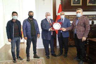 GAP Gazeteciler Birliği'nden Güder'e ziyaret
