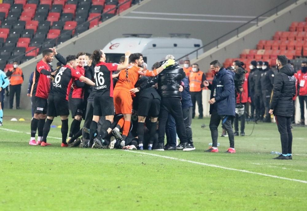 Gaziantep FK'nın bileği bükülemiyor