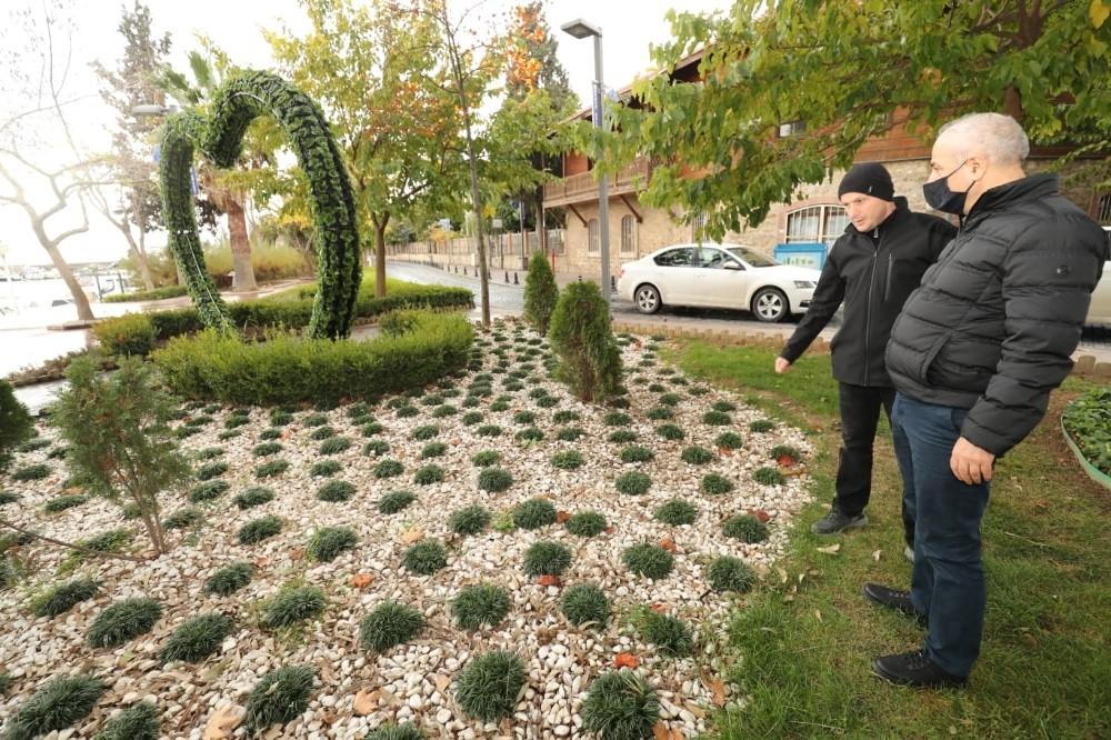 Gebze'de binlerce ağaç dikildi