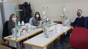 Giresun Halk Eğitim Merkezi 1.5 milyon maske üretti