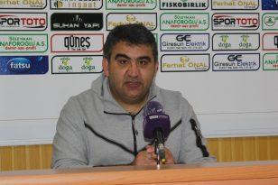 Giresunspor – Adana Demirspor maçının ardından