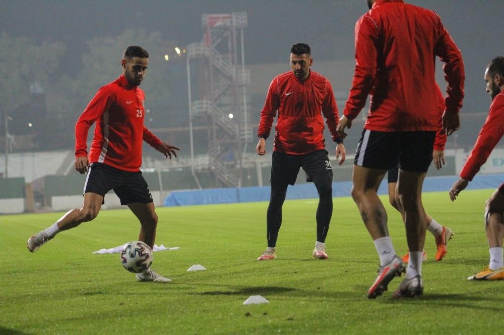 Hatayspor, BB Erzurumspor maçının hazırlıklarını sürdürdü