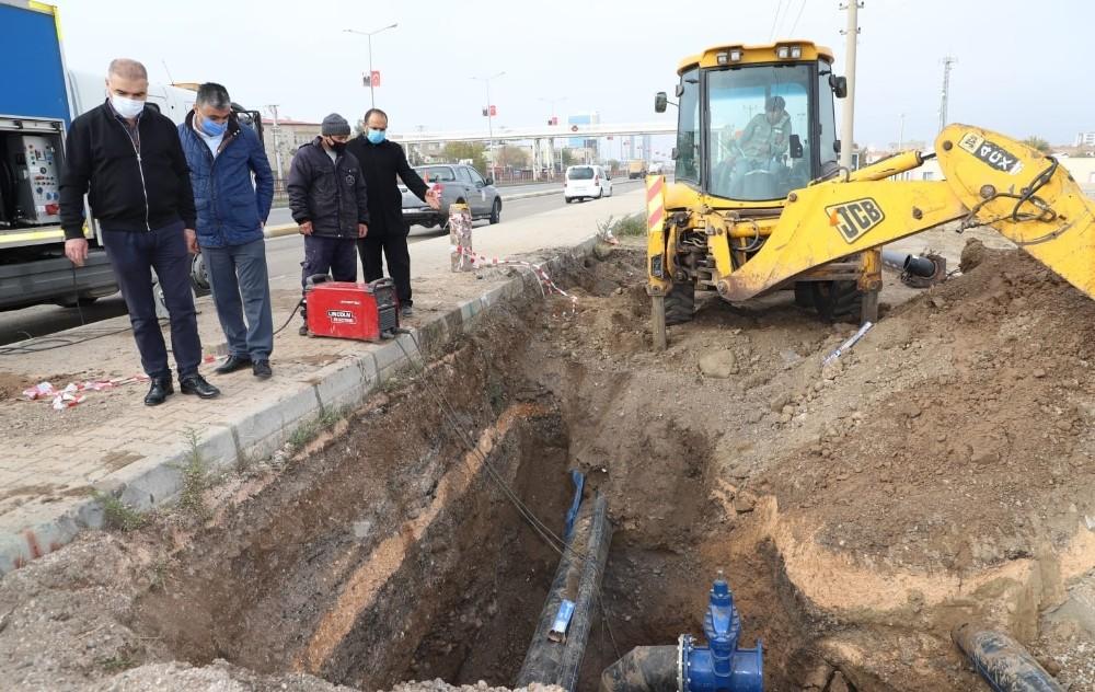 Diyarbakır İçme Suyu Şebekeleri Yenileniyor