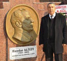 """Iğdır Azerbaycan Evi Derneği Başkanı Ünsal: """"Haydar Aliyev Türk Dünyasında iz bırakan gerçek liderlerden biridir"""""""