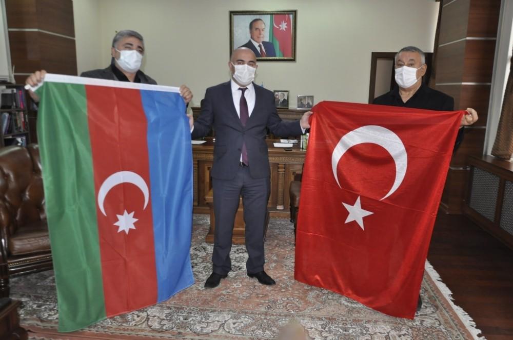 Iğdır Azerbaycan Evi Derneğinden Azerbaycan Kars Başkonsolosuna ziyaret