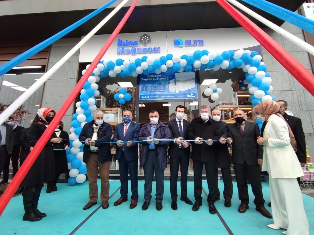 İhlas Mağazası'nın şubesi Sakarya'da törenle açıldı