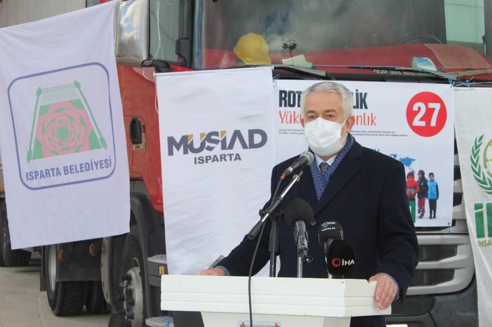 """Isparta Belediye Başkanı Başdeğirmen: """"Türkiye'nin mazlumların yanında yer alması dünyaya örnektir"""""""