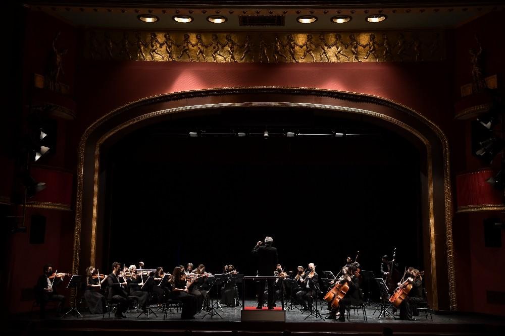 Kadıköy Belediyesi pandemi orkestrası ilk kez sahne aldı