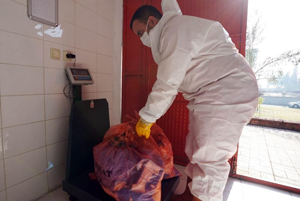 Kahramanmaraş'ta bin 300 ton tıbbi atık bertaraf edildi
