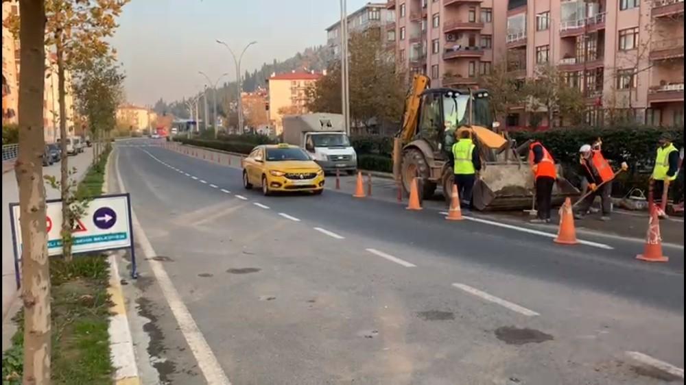 Karamürsel Köprülü Kavşağında Yalova istikameti trafiğe açıldı
