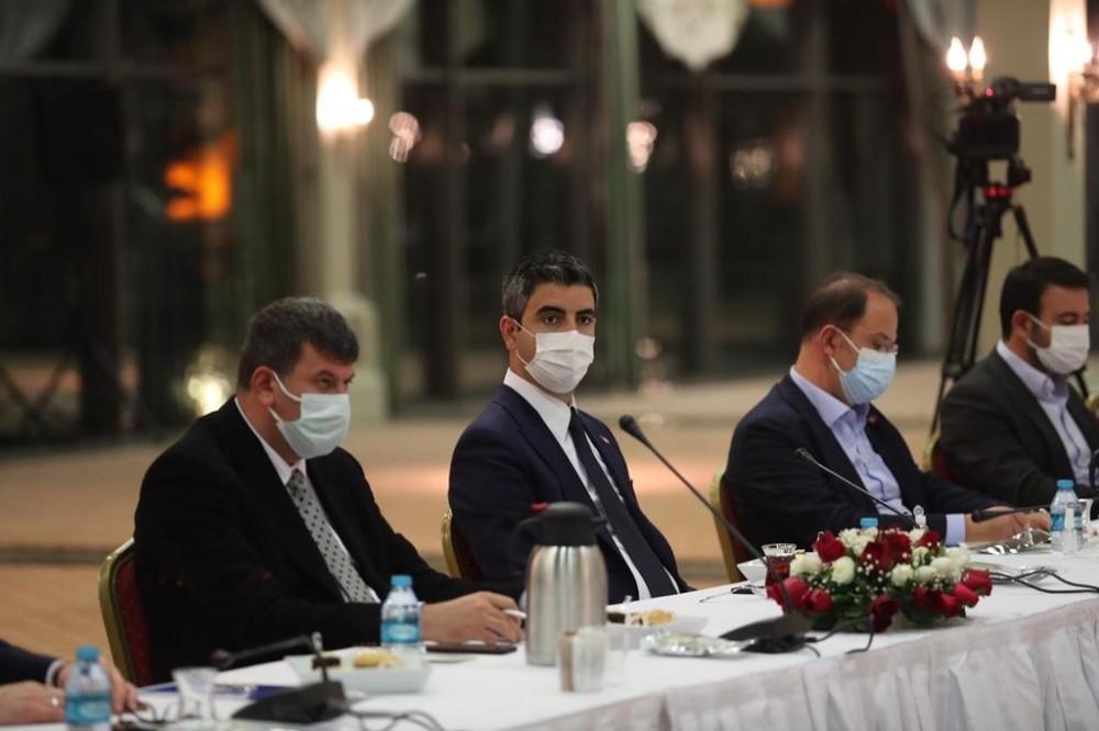 Kartal Belediye Başkanı Gökhan Yüksel, İBB'nin 'Pandemi Değerlendirme Toplantısı'na katıldı