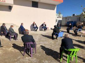 Kaymakam Alemderoğlu köylerin sorunlarını yerinde tespit ediyor