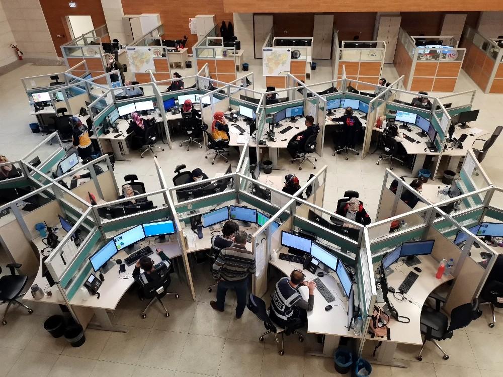Kayseri 112 Acil Çağrı Merkezi 2020 yılında 2 milyon 570 çağrıya yanıt verdi