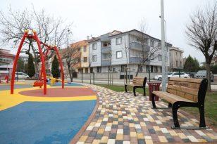 Kemalpaşa Mahallesinde yenilenen park hizmete girdi