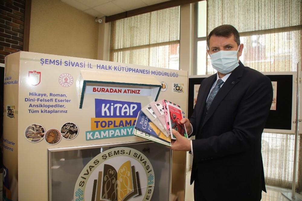 Sivas'ta Kitaplar Raflarda Tozlanmayacak