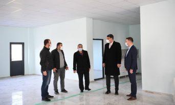 Kartepe Belediye Başkanı Kültür ve Taziye Evini İnceledi