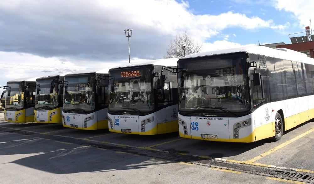 Konya'da 55-64 yaş arası yolcular için özel taşıma sistemi