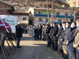 Koronadan ölen belediye başkanı toprağa verildi