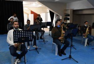 Kuşadası Belediye bandosu ile kent orkestrasına yeni stüdyo