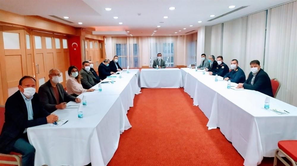 Kuşadası'nda ilçe koordinasyon toplantısı yapıldı