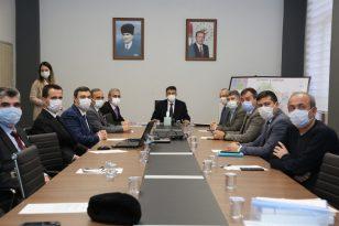 Kütahya'da Toprak Koruma Kurulu Toplantısı