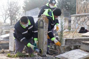 Malatya'da İnönü ve Özal ailelerinin mezarlarını yeniliyor