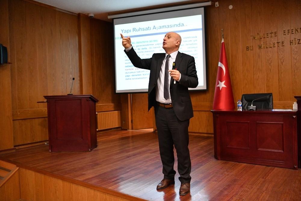 Mamak Belediyesi personeline imar mevzuatı hakkında bilgilendirme semineri