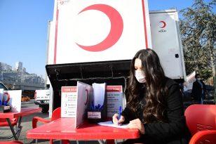 Mamak Belediyesi'nden Kızılay'a kan desteği