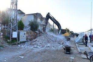 Marmaris'te yıkımlar devam ediyor
