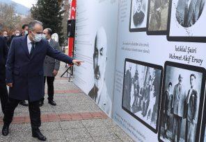 Mehmet Âkif Bursa'da Anıldı