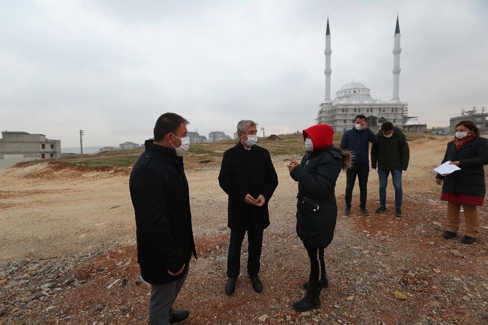 Mehmet Tahmazoğlu çalışmaları inceledi