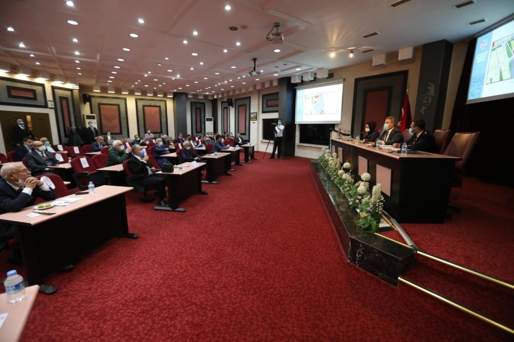 Melikgazi'de yılın son meclis toplantısı yapıldı
