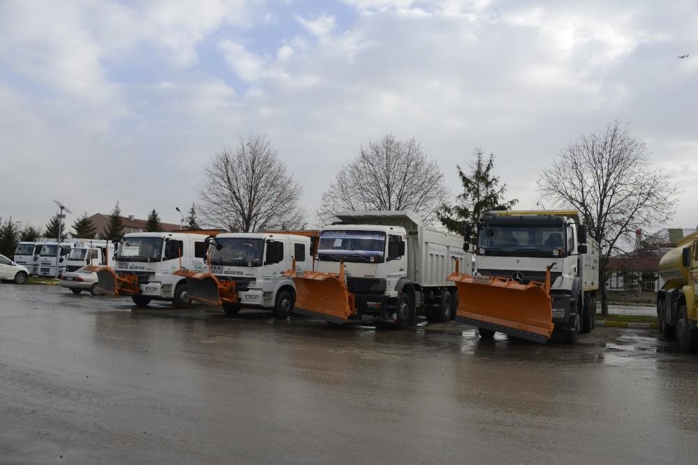 Meram Belediyesi kış önlemlerini aldı