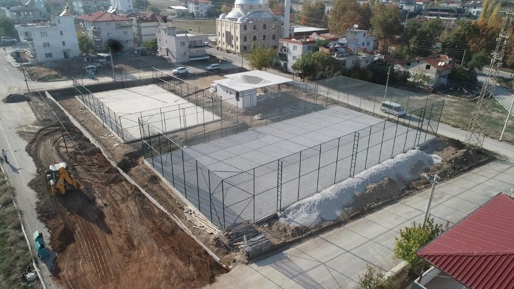 Merkezefendi'de projeler ilçenin çehreni değiştirmeye devam ediyor
