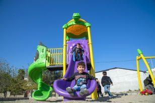Mersin'de 13 ilçede 50 noktaya oyun parkı