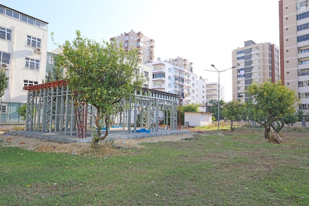 Mezitli Belediyesi, Engelsiz Kafenin yapımına başladı