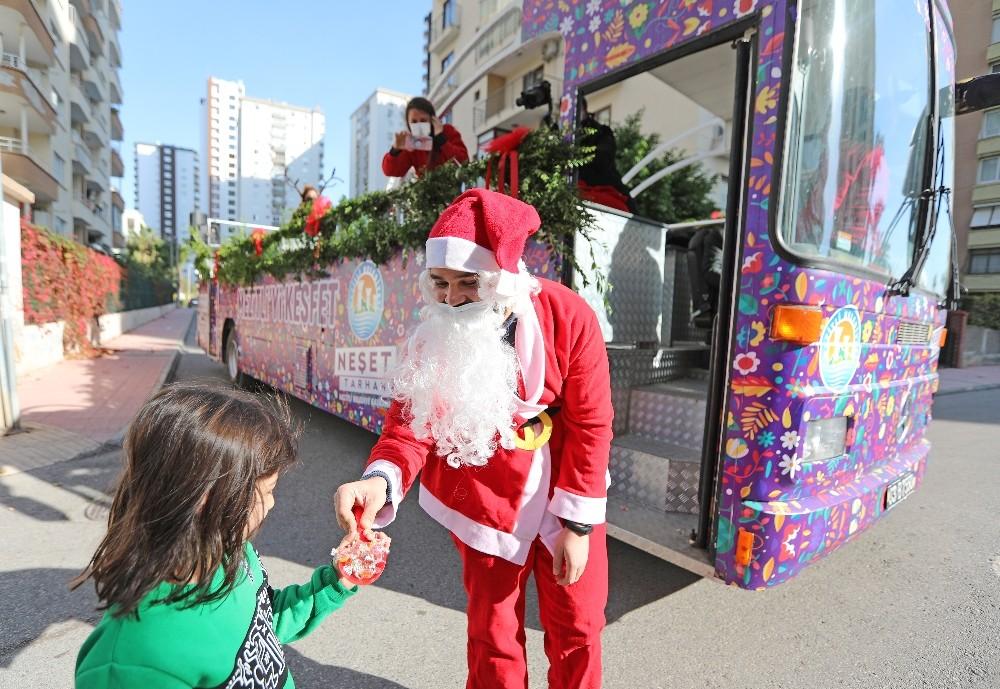Mezitli Belediyesi, yeni yılı dolu dolu etkinliklerle kutluyor