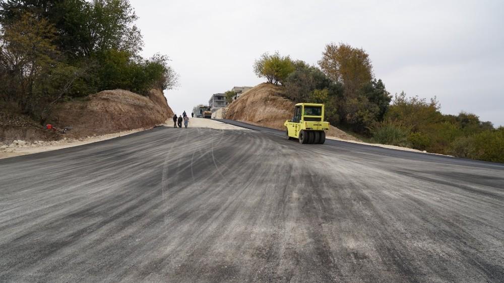Millet Caddesi asfaltlanma tamamlandı