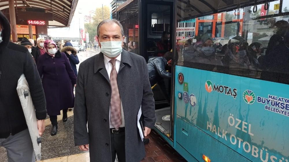 MOTAŞ'ta pandemiye göre otobüs düzenlemesi