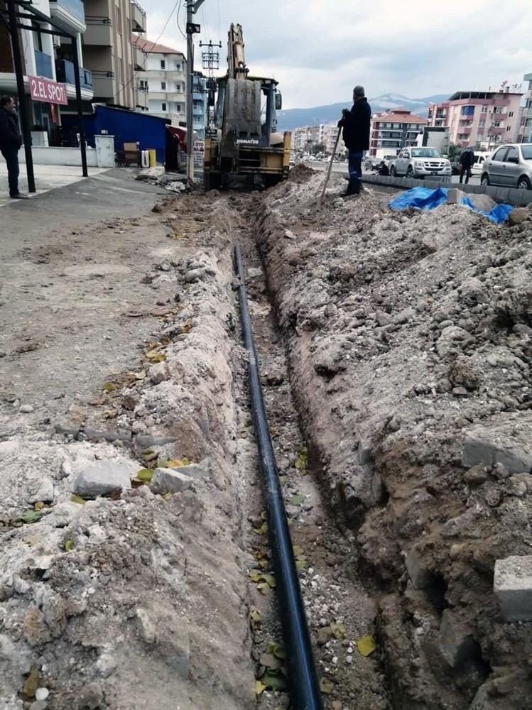 MUSKİ, Yatağan'da içme suyu yenileme çalışmalarını sürdürüyor