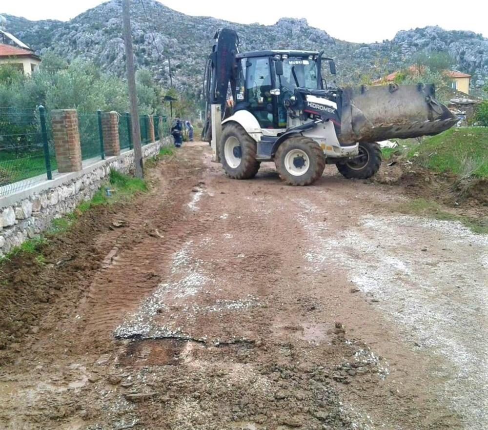MUSKİ'nin Marmaris'te içme suyu çalışmaları sürüyor