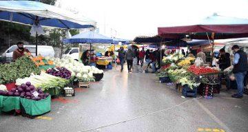 Nilüfer'de Pazarlar Hafta İçi Kurulacak