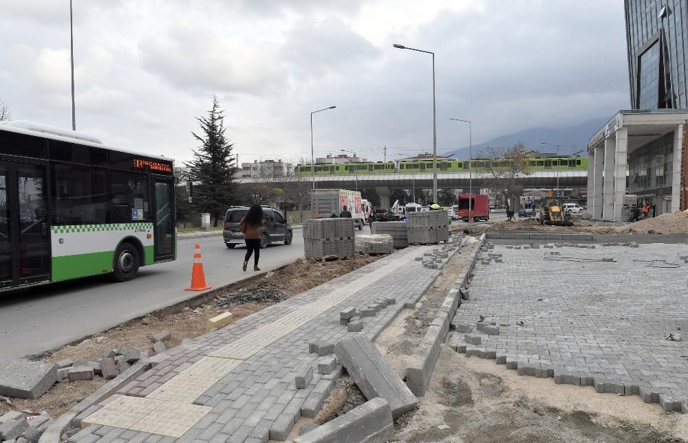 Osmangazi'den trafiği rahatlatacak çalışma