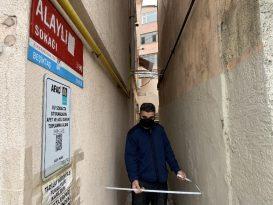 İstanbul'un En Dar Sokağı 89 Santimetre