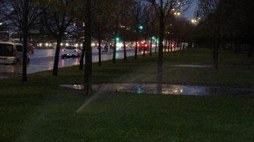 Tam Otomatik Sulama Sistemi Yağmurlu Havada da Çimleri Suladı