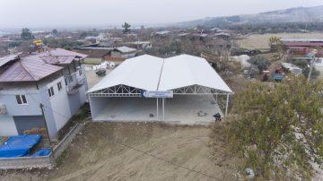 Pamukkale Belediyesi, pazar yeri ve sosyal tesis çalışmalarında sona yaklaştı
