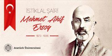 İstiklal Şairi Mehmet Akif Ersoy'u Anma