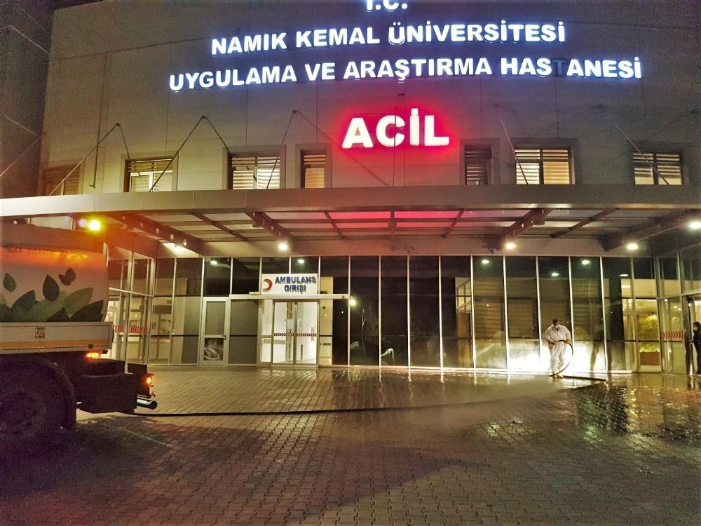 Tekirdağ Süleymanpaşa'da Salgınla Mücadele Tüm Hızıyla Sürüyor