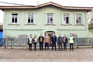 Salihli'deki Atatürk Evi Restorasyonu Başladı