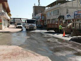 Serdivan'daki Çalışmalara Esnaf da Destek Oluyor